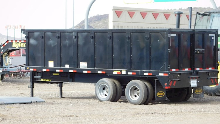 2017 Big Tex 25DU HD - Big Tex Dump Trailers