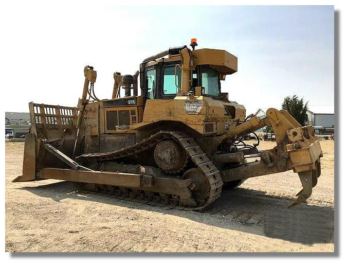 2008 Caterpillar D7R II Waste Handler - Caterpillar Bulldozers