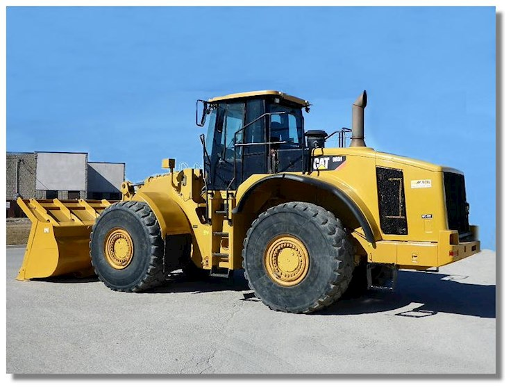 2007 Caterpillar 980H - Caterpillar Loaders