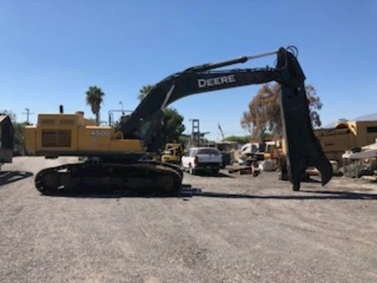 2009 John Deere 450D LC with Labounty 100R Shear - John Deere Excavators