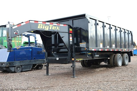 Big Tex 25DU HD - Big Tex Dump Trailers