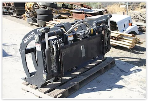 "2014 Bradco Grapple Bucket-80"" - Bradco Attachments"