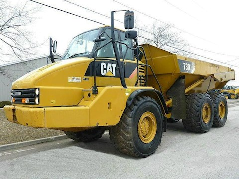 Caterpillar 730 - Caterpillar Dump Trucks