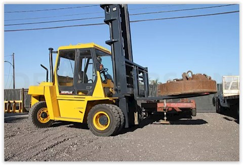Caterpillar DP70 - Caterpillar Forklifts