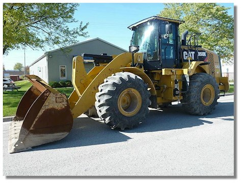 Caterpillar 950K Waste Handler - Caterpillar Loaders