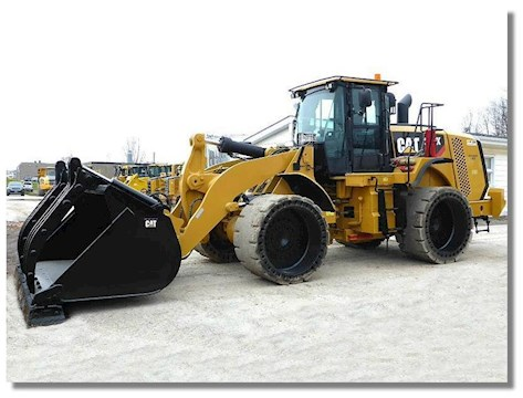 Caterpillar 966K Waste Handler - Caterpillar Loaders