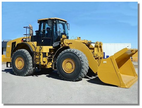 Caterpillar 980H - Caterpillar Loaders