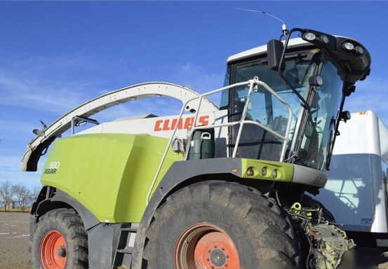 CLAAS JAGUAR 980 S/P  FORAGE HARVESTER - CLAAS Hay & Forage