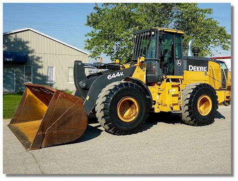 2007 Caterpillar 980H - John Deere Loaders