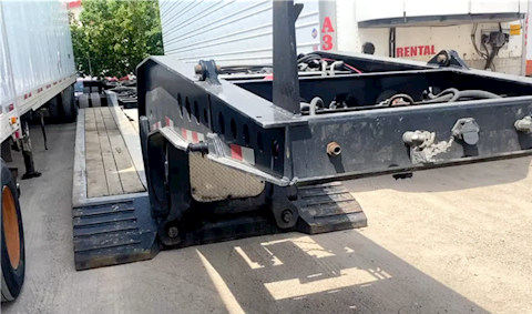 2019 B. Pole 40 foot with scale - Etnyre Trailers