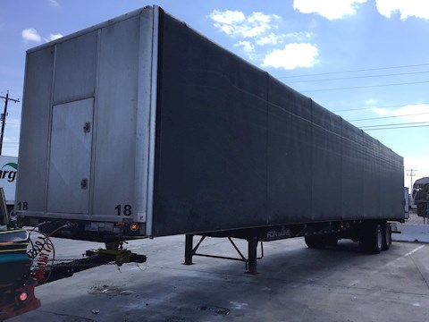 Fontaine Infinity Flatbed Curtainside 53X102 - Fontaine Trailers