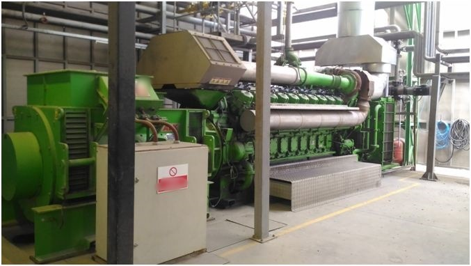 Other Jenbacher JMS 620 Cogeneration Plant 5000 KW - Other Generators