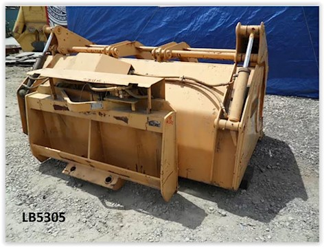 "2014 Bradco Grapple Bucket-80"" - Tink Attachments"