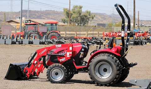 TYM T26HST-TL 25HP 4x4 Tractor Loader - TYM Tractors
