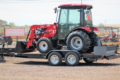 TYM T39HCX-TL 40HP Hystat 4x4 Tractor Loader + FREE TRAILER! - TYM Tractors