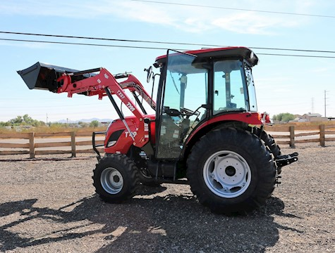2020 KIOTI CK2610SEHC-TL 26HP 4x4 Ranger Edition Tractor Loader with Cab - TYM Tractors