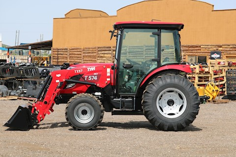 TYM T57HSTC TURBO Cab Tractor Loader 55HP 4x4 HYSTAT - TYM Tractors