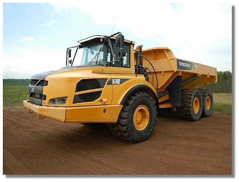 2014 Caterpillar 725C - Volvo Dump Trucks