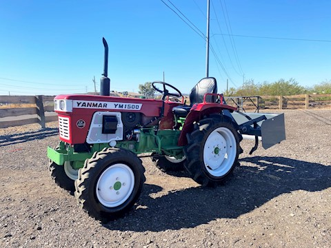 2020 TYM T47HSTC-TL CAB Tractor 48HP 4x4 HYSTAT WITH BOX BLADE - Yanmar Tractors