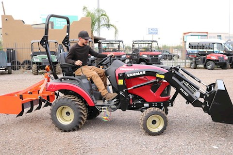 Yanmar 221BXI-TL 4x4 Tractor with Full 10 YEAR WARRANTY! - Yanmar Tractors