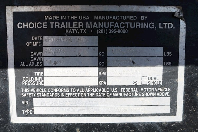 2010 Other 355DN - Other Trailers