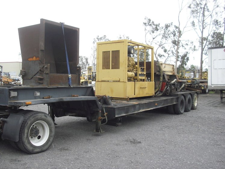 1997 SSI-Portable Tire Shredder SSI 1600 - SSI-Portable Tire Shredder Shredders