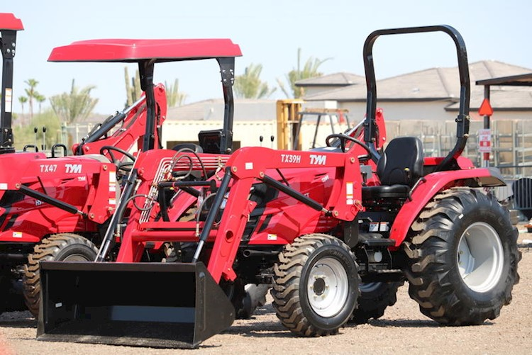 2020 TYM T39HST 40HP 4x4 Tractor Loader - TYM Tractors