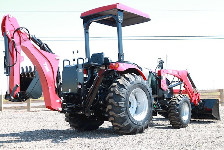 2020 TYM T55HST TURBO Tractor Loader Backhoe - TYM Tractors