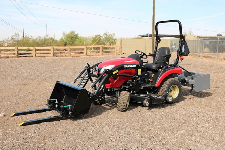2020 Yanmar SA221H LandPro Tractor Loader with Mower Deck and UPGRADES - Yanmar Tractors