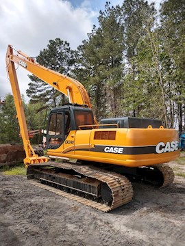 CASE Excavators at Pioneer Equipment Company