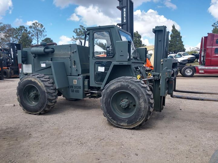 CASE Forklifts at Pioneer Equipment Company