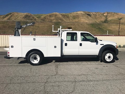 2006 FORD CAB CHASSIS TRUCKS F-450