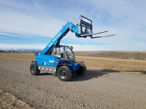 Genie Forklifts at Montana Forklift and Equipment, LLC