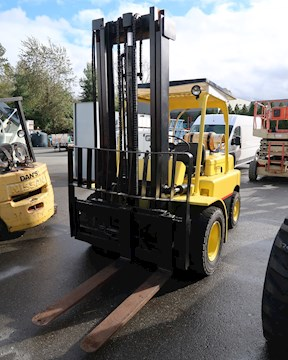 1976 HYSTER FORKLIFTS H80C