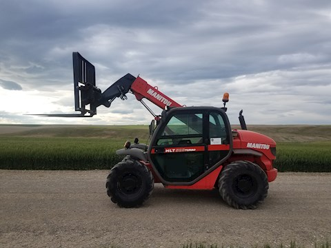 2005 MANITOWOC FORKLIFTS MLT-523