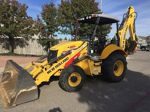 2013 NEW HOLLAND LOADER BACKHOES B95C