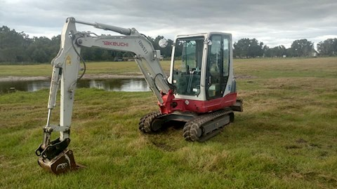 Takeuchi Excavators at Pioneer Equipment Company