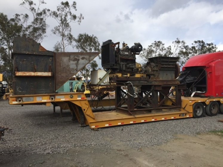 2000 American Pulverizer Ring Mill - American Grinder Mixer