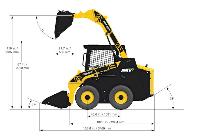 2017 ASV RS-60 - ASV Loaders