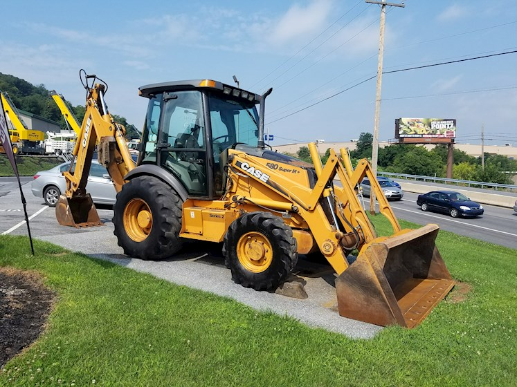 2004 CASE 580 SM Plus II - CASE Loader Backhoes