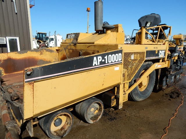 2005 Caterpillar AP-1000 - Caterpillar Asphalt & Conrete