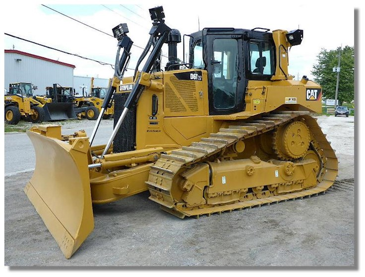 2012 Caterpillar D6T XW Waste Handler for sale | Machinery