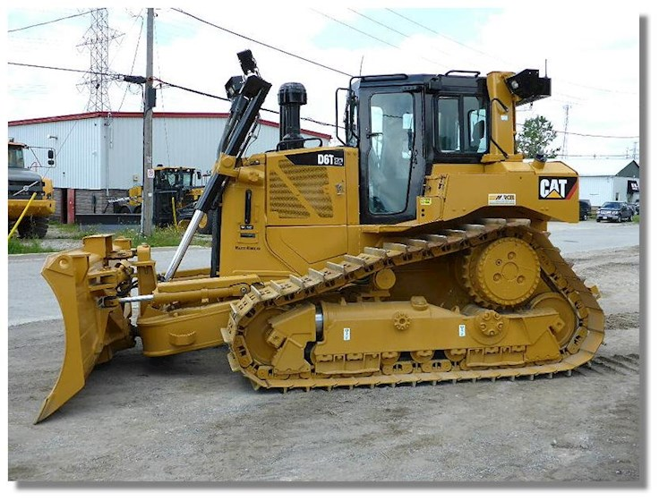 2012 Caterpillar D6T XW Waste Handler - Caterpillar Bulldozers