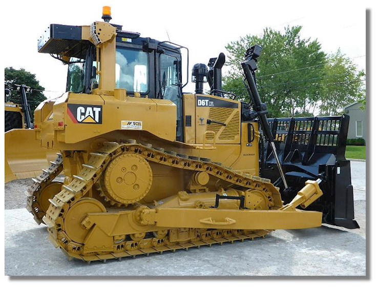 2013 Caterpillar D6T XW Waste Handler - Caterpillar Bulldozers