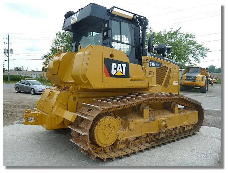 2013 Caterpillar D7E LGP Waste Handler - Caterpillar Bulldozers
