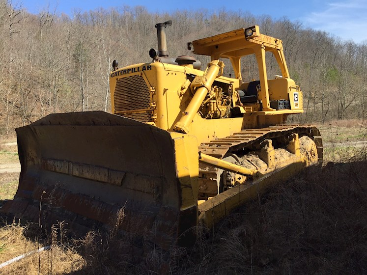 Bulldozers For Sale >> 1980 Caterpillar D9h