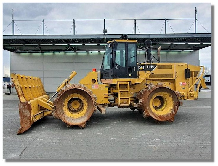 2008 Caterpillar 816F II - Caterpillar Compactors