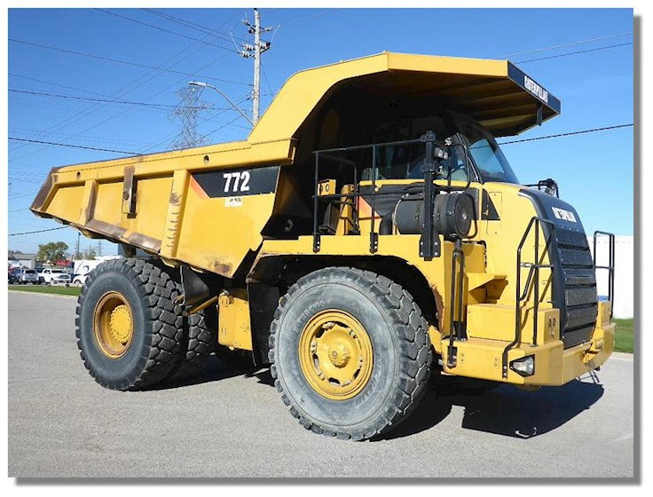 2007 Caterpillar 772 - Caterpillar Dump Trucks