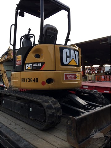 2014 Caterpillar 303.5E CR - Caterpillar Excavators