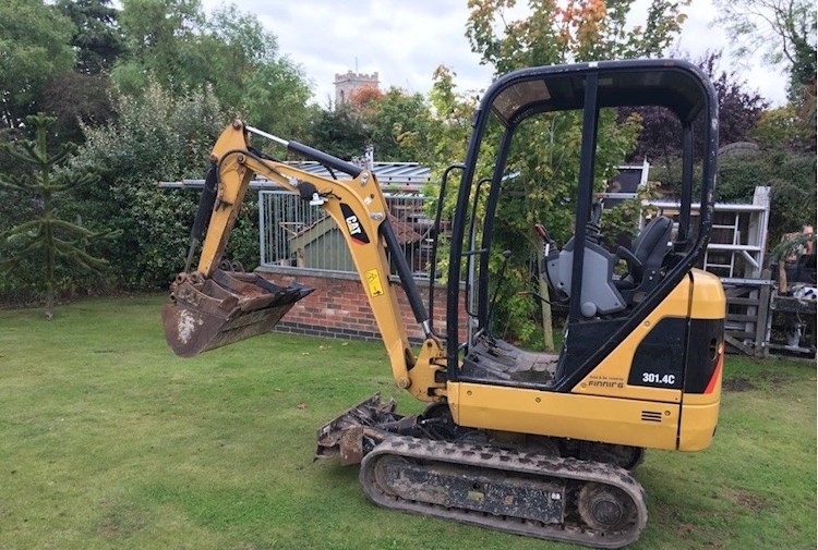 2013 Caterpillar CAT 301.4C - Caterpillar Excavators